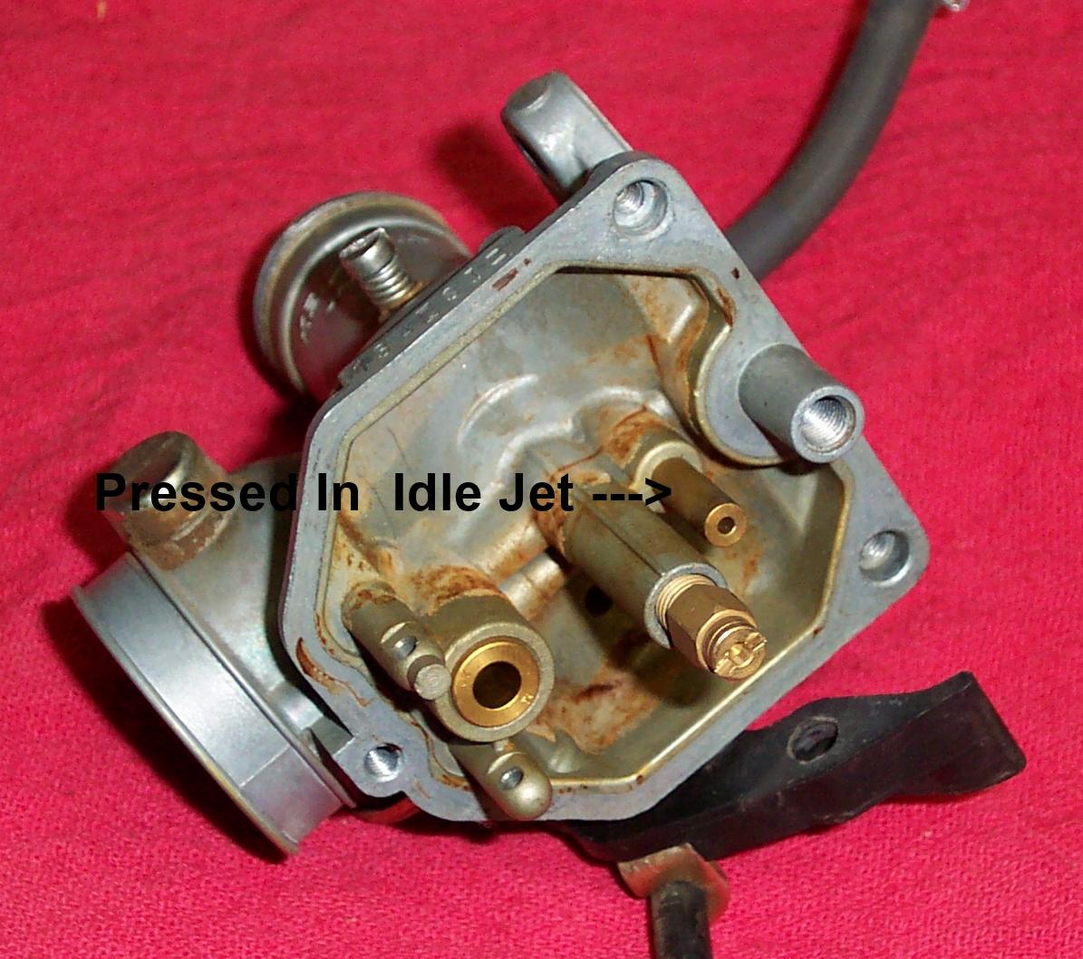 Dans Motorcycle Carburetor Repair Sportster Wiring Diagram Further Kawasaki Keihin Cv Cannot Be Removed