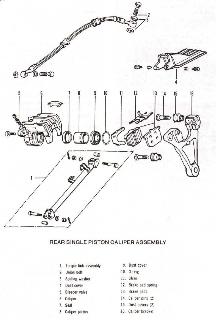 motorcycle rear wheel diagram